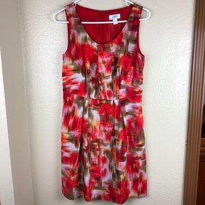 Ann Taylor Loft | Flowy Colorful Mini Dress